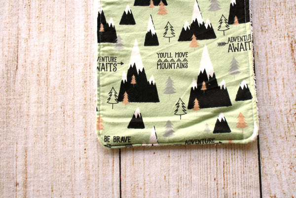 Mountains Long Bib