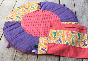 Paisley Travel Playmat