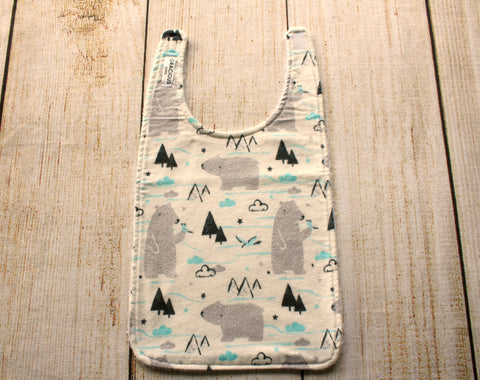 Polar Bear Long Bib