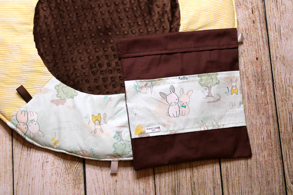 Bunny Travel Playmat