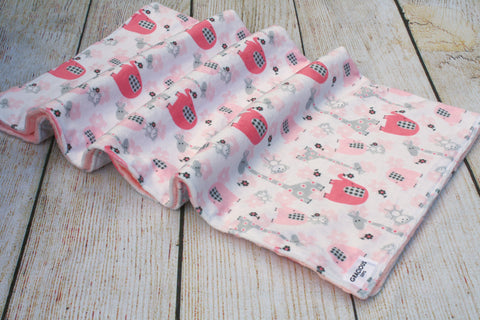 Safari Pink Blanket