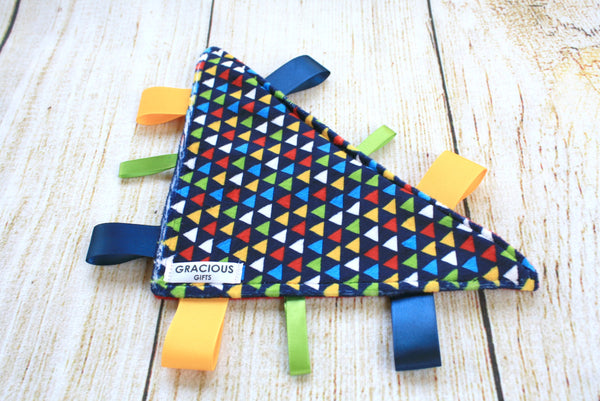 Colourful Crinkle Triangle