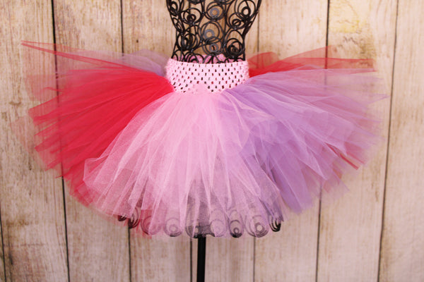 Festive Valentines Tutu and Magical Wand