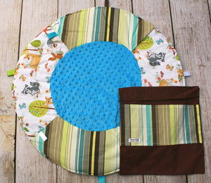 Woodland Stripes Travel Playmat