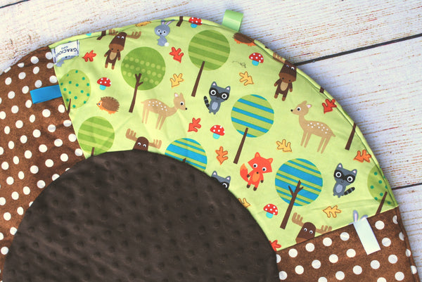 Woodland in the Trees Travel Playmat