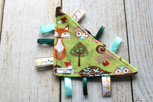 Woodland Green Triangle Crinkle
