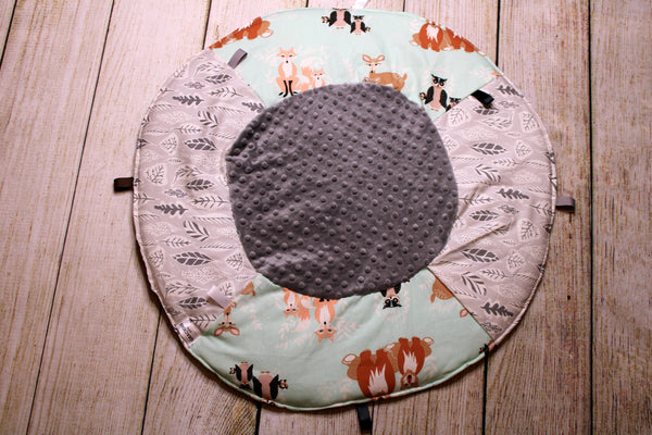 Woodland Mint Travel Playmat