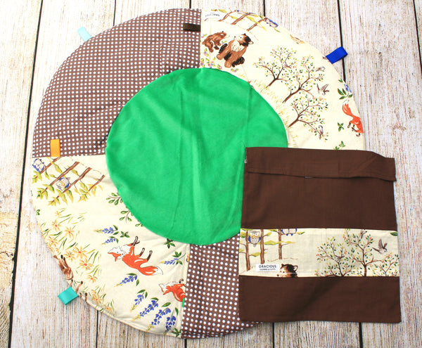 Woodland Travel Playmat