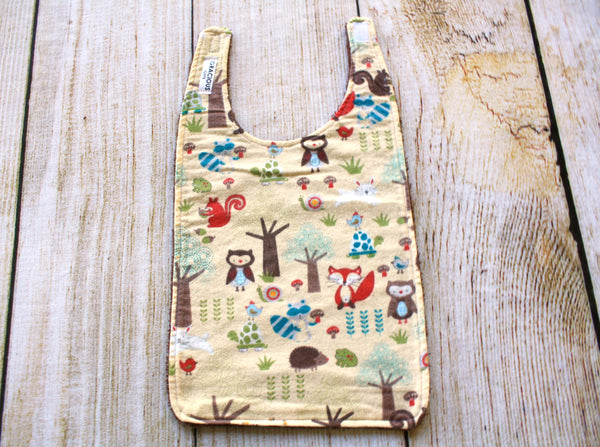 Woodland Tan Long Bib