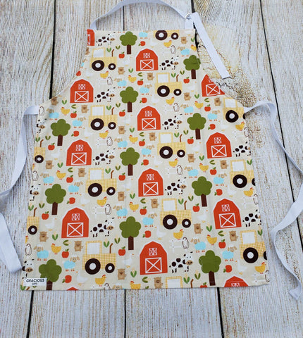 Little Helper Apron - Farm Animal