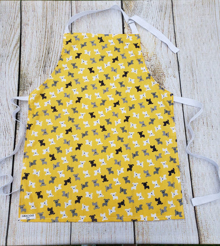 Little Helper Apron - Yellow Dog