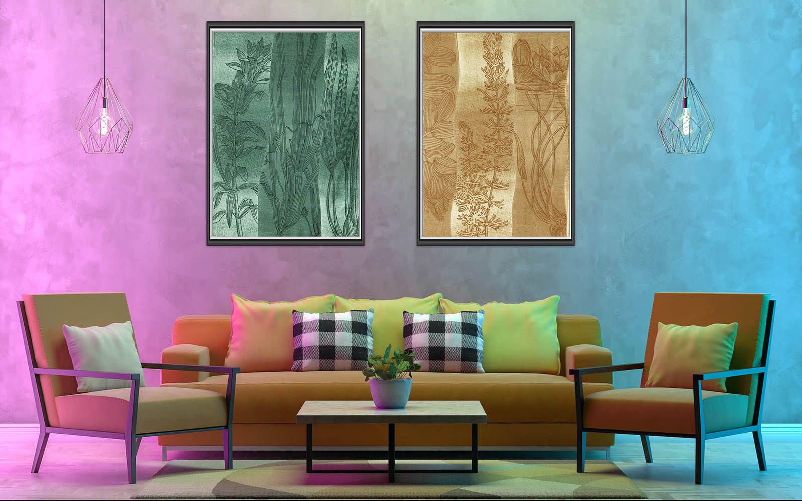 Set of Two Vintage Paintings, Canvas Designs, Painting Canvas Designs, Printable Art Designs,
