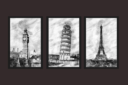 Famous Canvas Paintings, Best Places To travel In Europe , The Best Canvas Designs, Painting Canvas Designs, Printable Art Designs (Black and White)