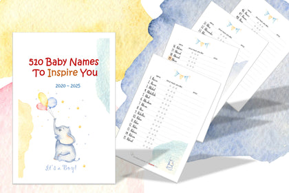 510 Baby Boy Names To Inspire You, This Book Helps You Narrow Down Your List Of Favorites