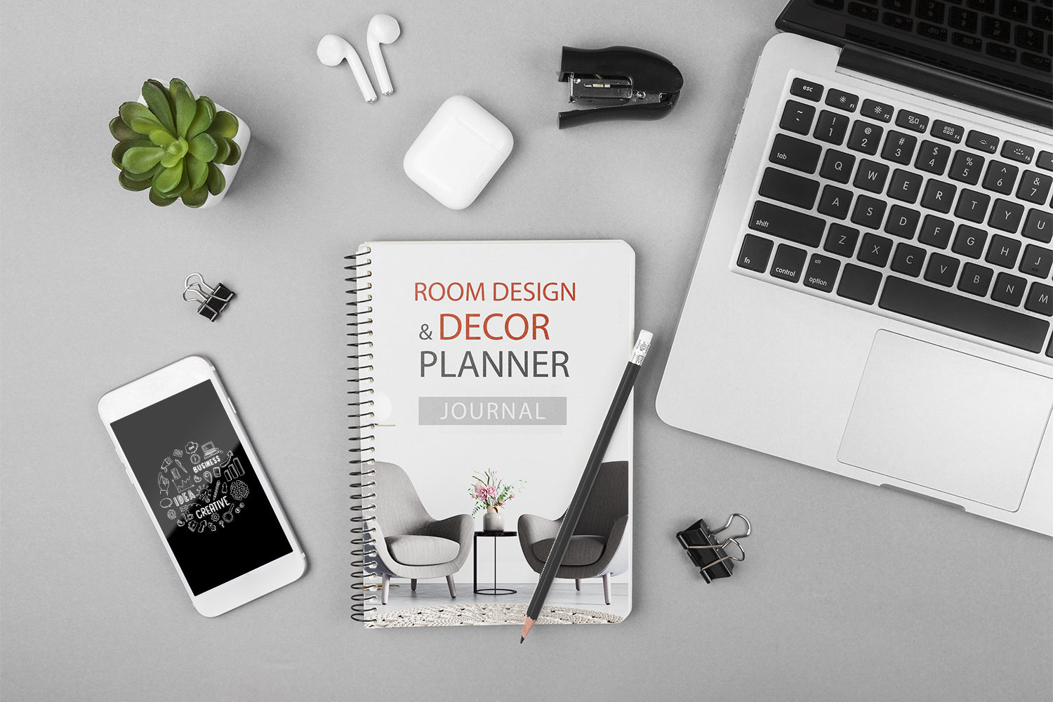 Home design and decor planner journal, planning your day, this is the perfect tool to use, printable