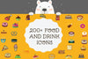 200+ Food And Drink Powerpoint Icons, Beverages Powerpoint  Icon Set, Multi-Version, INSTANT DOWNLOAD