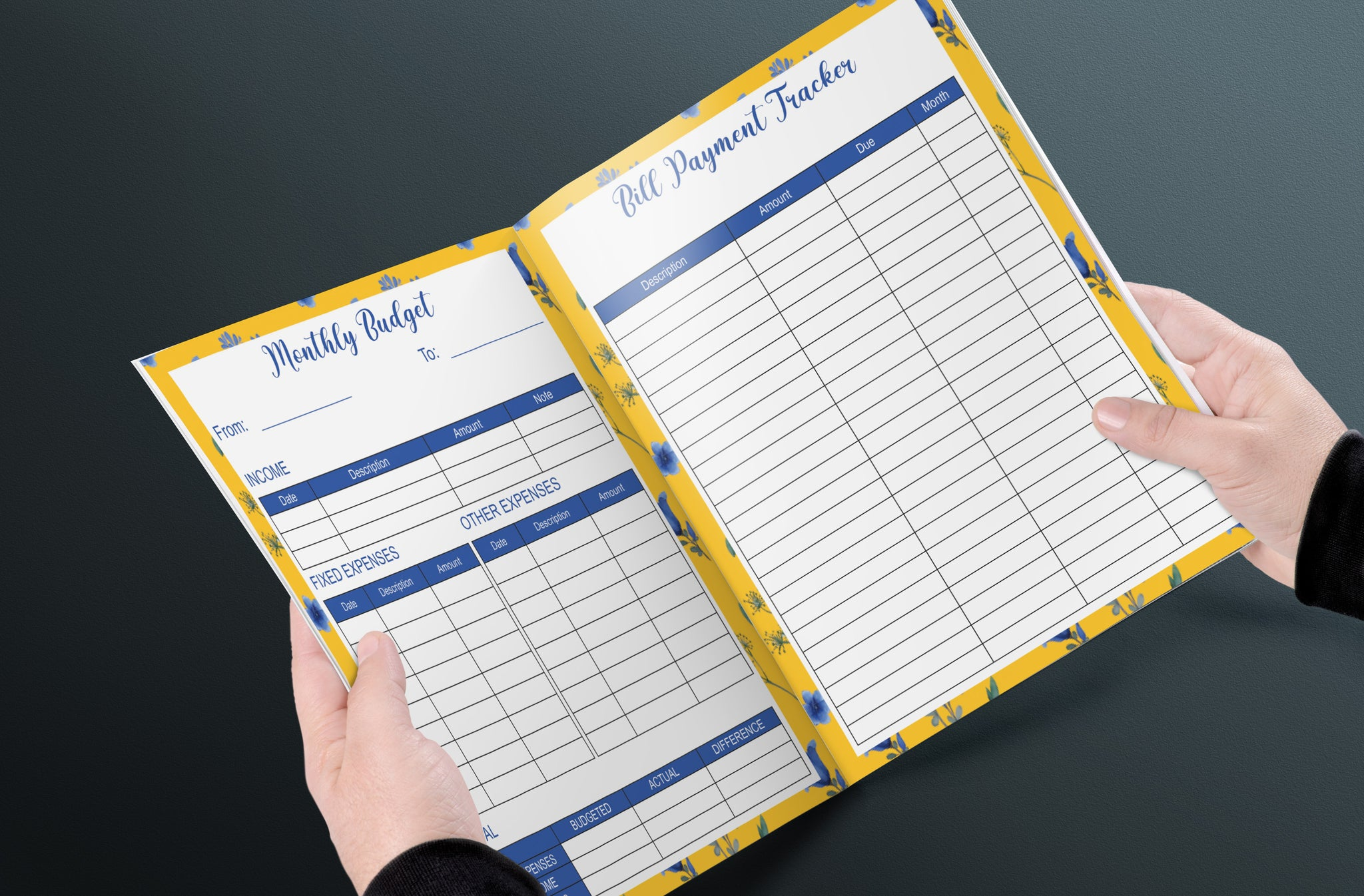 Budgeting Workbook, Simple Budget Planner, Monthly, Daily Budget Planner, Financial Planner