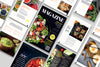 20+ Print Page Template, Magazine Template, Food Magazine