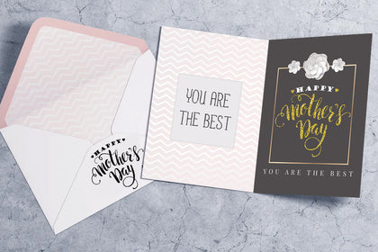 Mother's Day Greeting Cards, Happy Mother's Day, Mom You Are The Best, Greeting Card, Gift For Mother