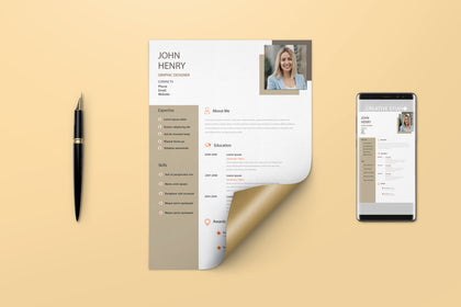 CV Resume For Job Application. Easily Editable, Modern, Simple and Unique Layouts CV Resume