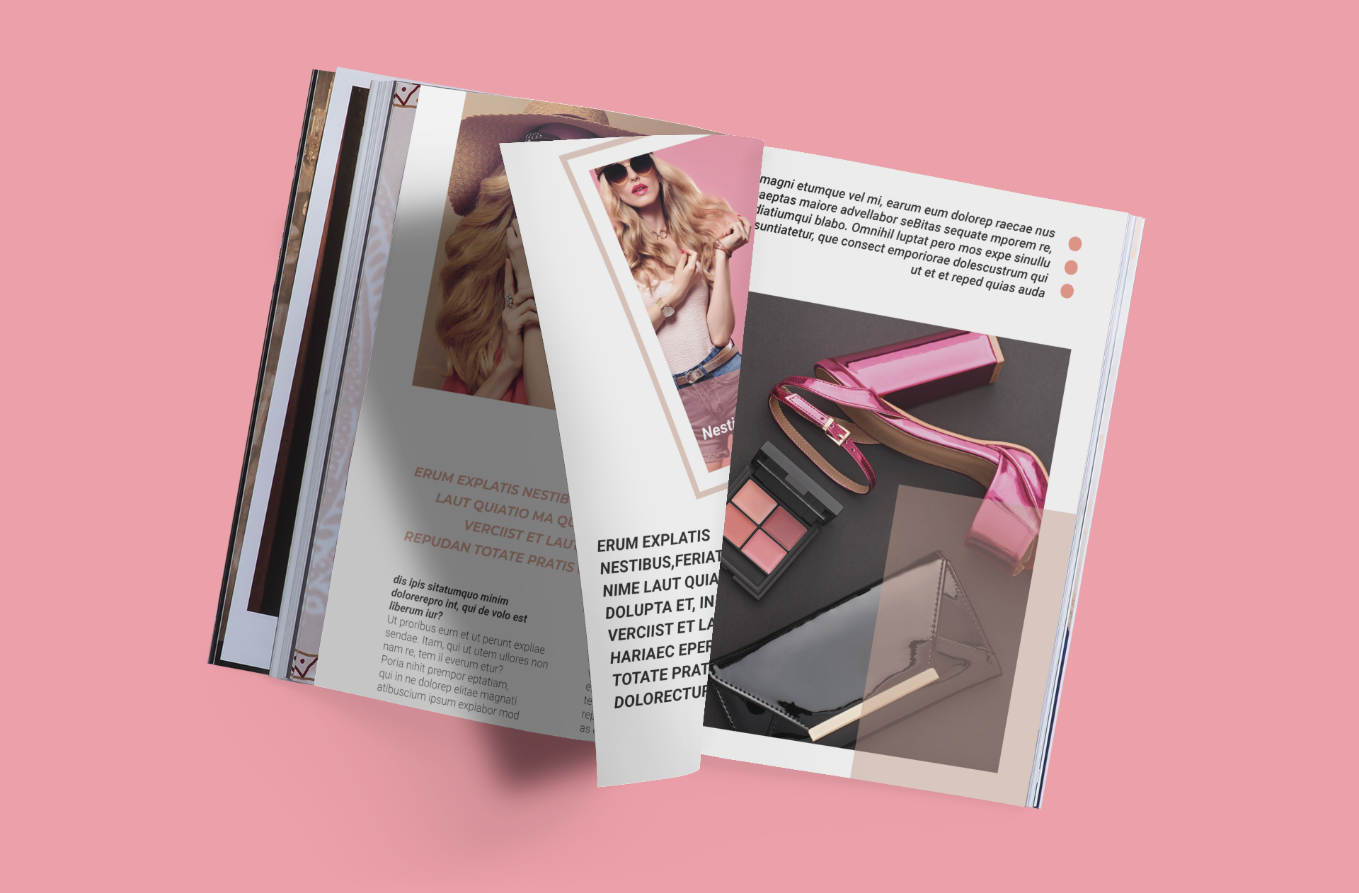 Professional Magazine Template, Editable and Customizable Magazine, Indesign Magazine, Fashion Magazine