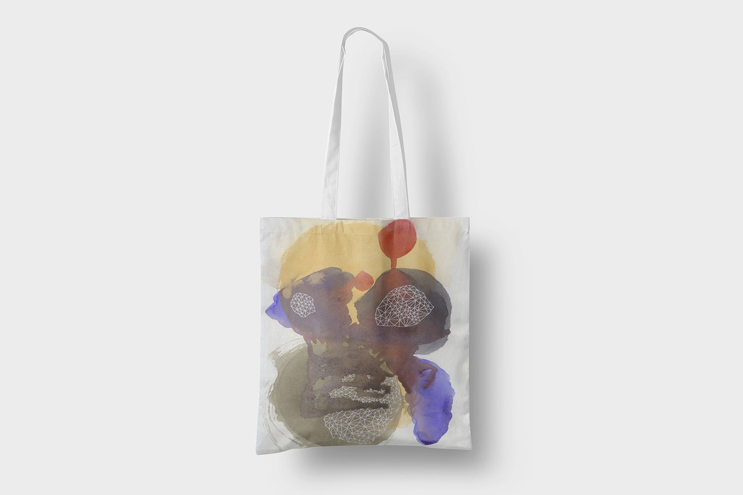 Abstract Painting Gift Set For Her, Modern Wall Art , Tote Bag, Cushion Cover, Printable Art, Abstract Watercolor Print, Women's Day Print