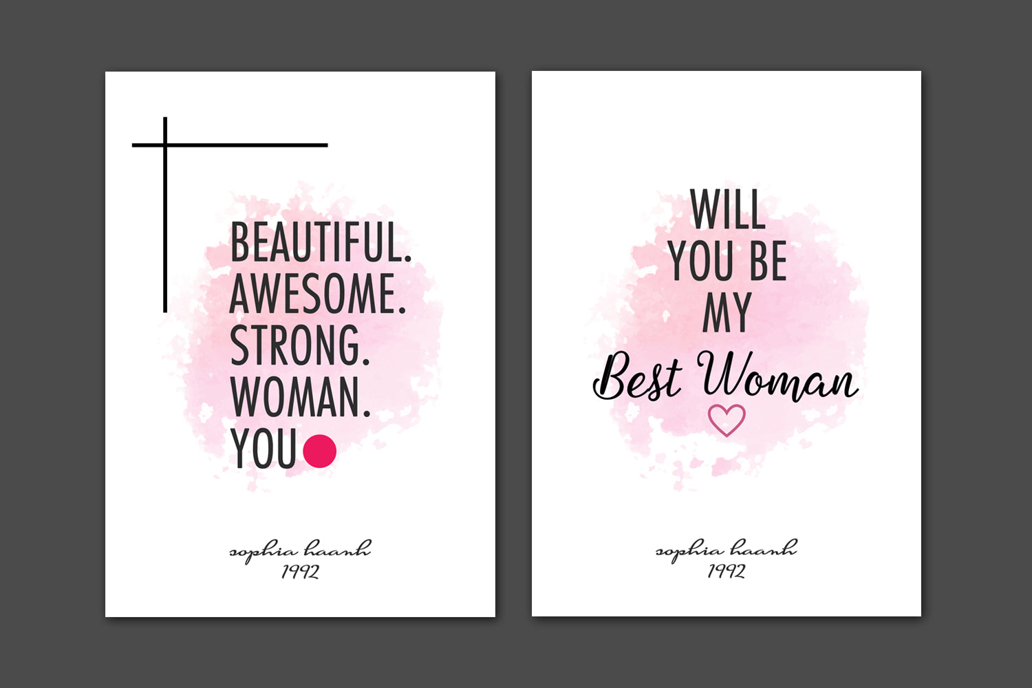 5 PRINTABLE Mothers Day Cards for Best Friend, INSTANT DOWNLOAD