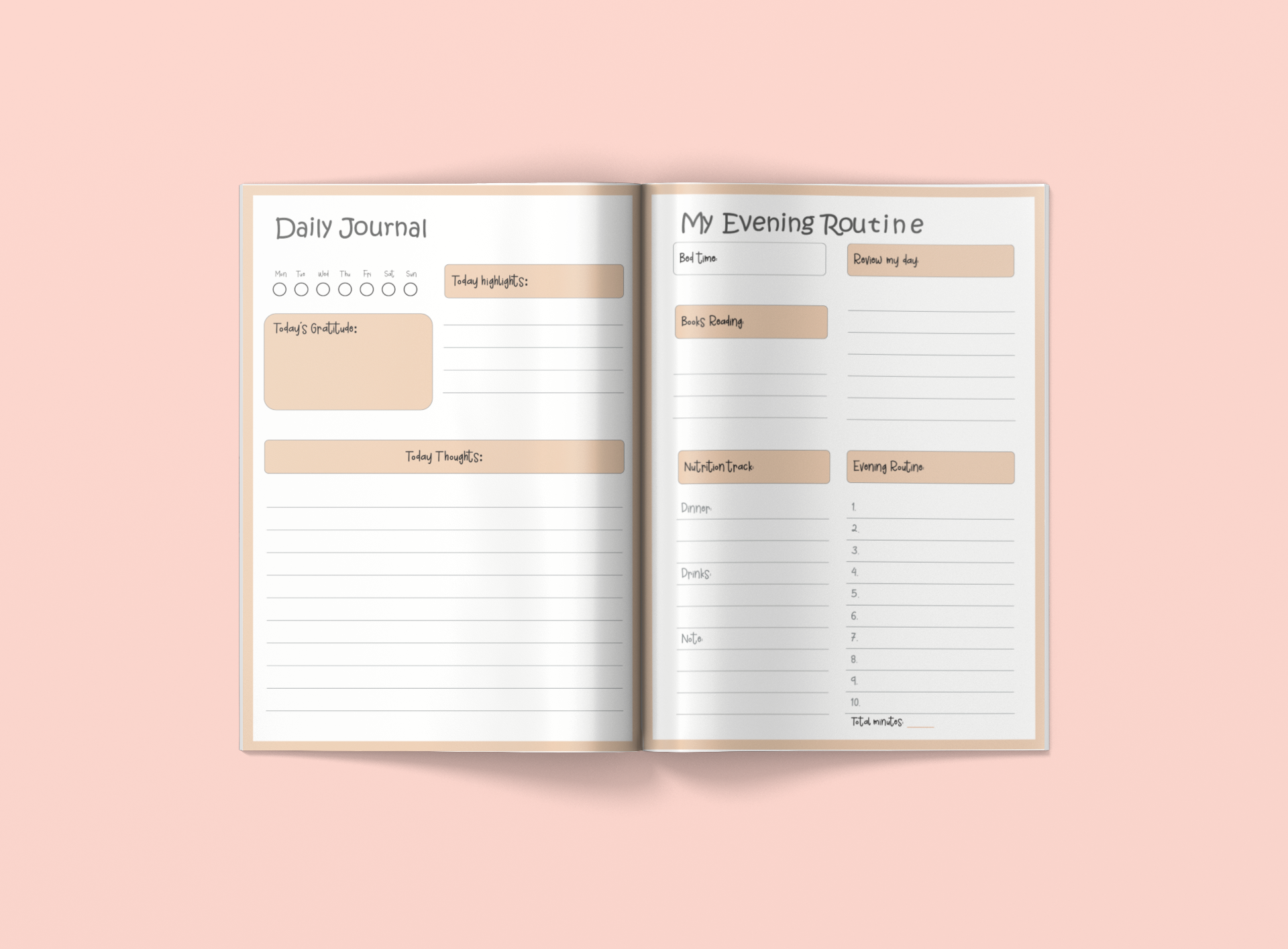 My Routine Planner - Using For Improving Your Daily Productivity, Time Management