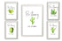 5 styles of Watercolor Cactus Illustration canvas designs, Be strong no more