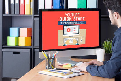 Youtube Quick Start PLR - Special Report Shows You How to Quickly Setup Your Channel For Ongoing Success!