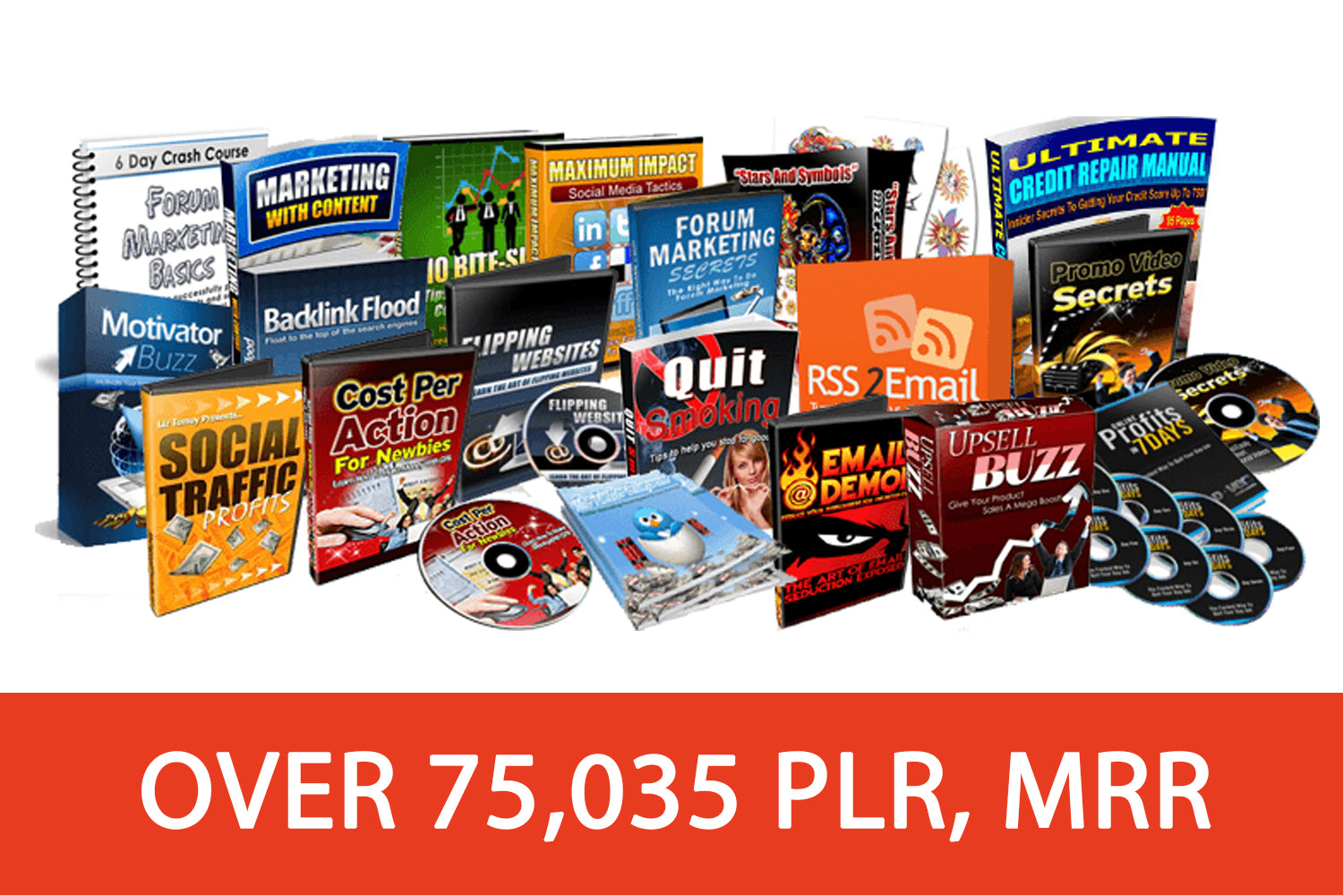 Instant Access to 75,035 PLR Products Which You Can Resell And Keep 100% Of The Profits!
