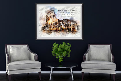 Rome Canvas  Paintings , Canvas Designs, Painting Canvas Designs, Art Designs, Art Quote, Printable Art.