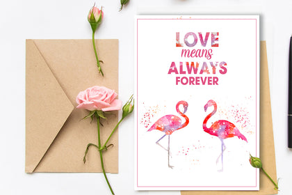 2 LOVE of SWANS Painting Cards, Love Cards, Art Designs, Original and Prints.