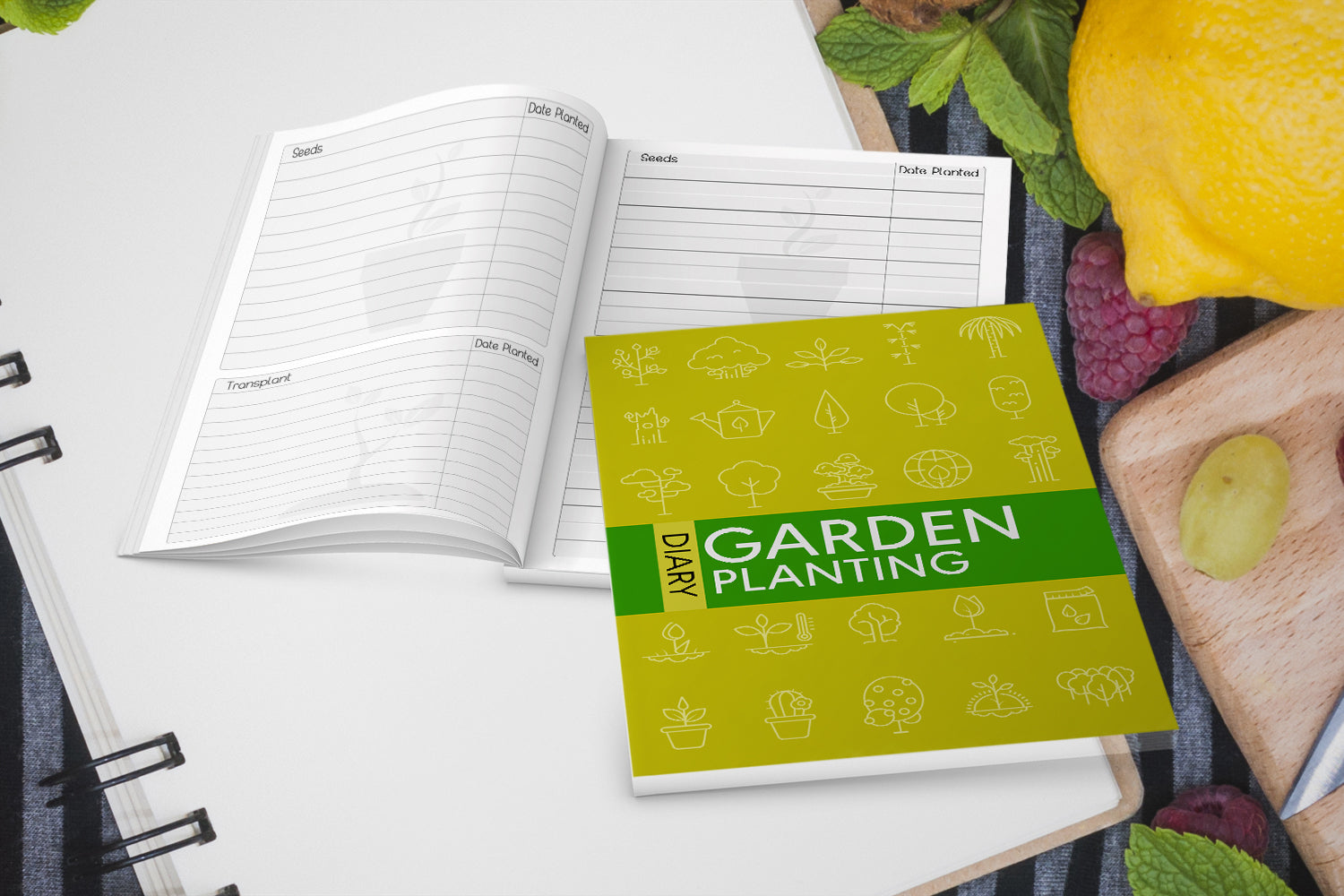 Garden Planting Diary, Planning Your Vegetable Garden , This Is The Perfect Diary To Use, Printable