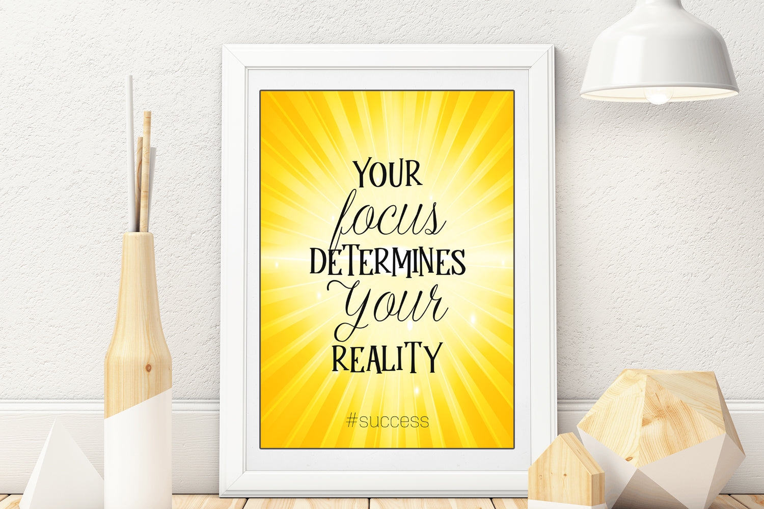 Focus Canvas Wall Art, Your Focus Determines Your Reality, Focus Wall Decor, Focus Poster, Focus Art, INSTANT DOWNLOAD