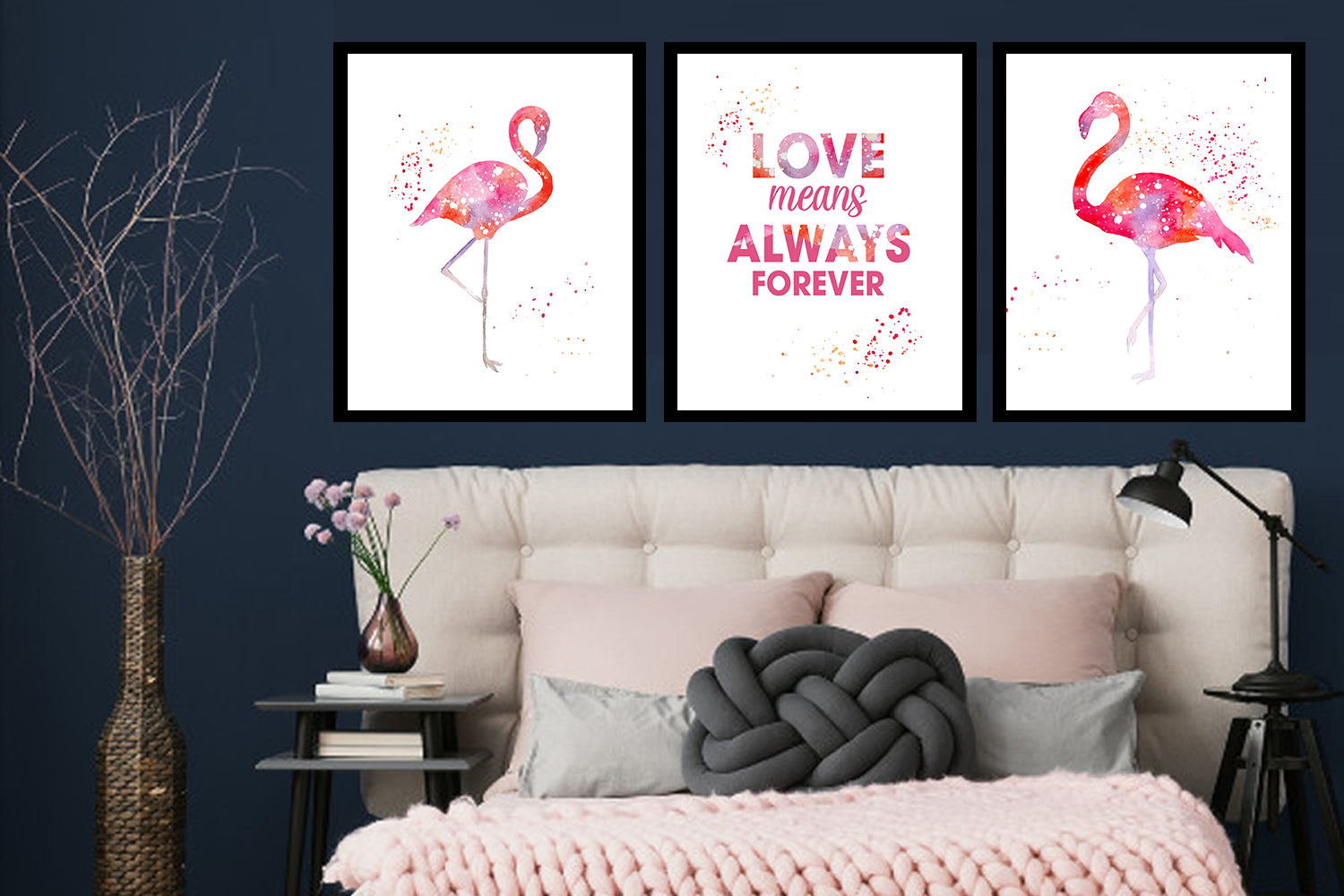 Set of three LOVE of SWANS paintings, Canvas Designs, Painting Canvas Designs, Art Designs, Original and Prints.