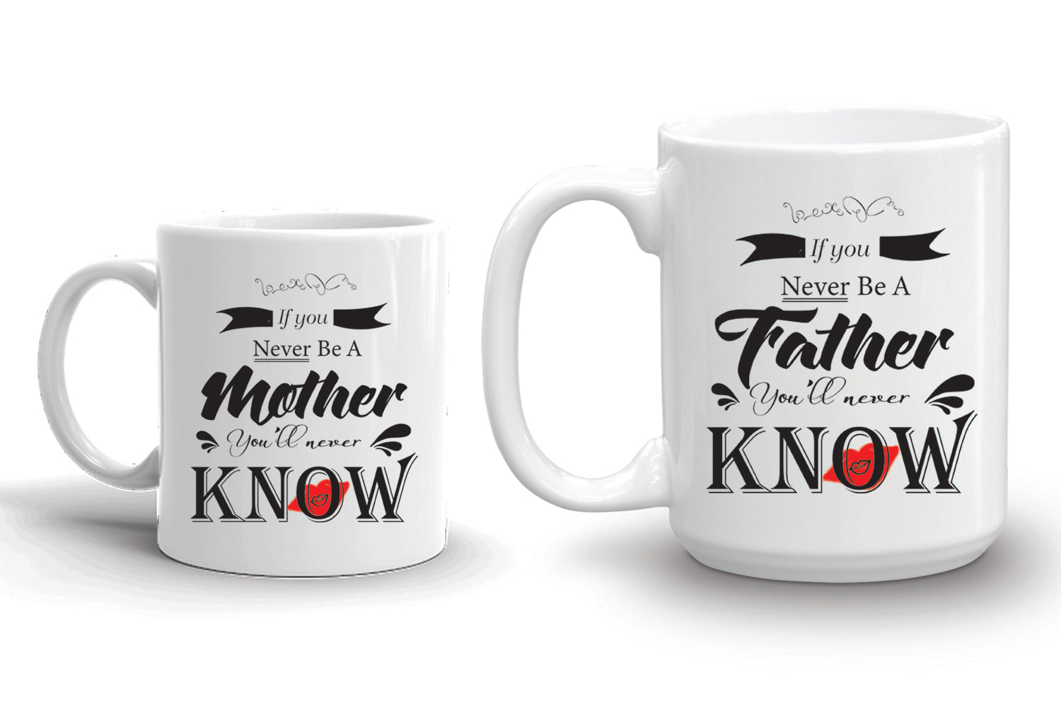 Be Parents Couple Set, Parents' Day Gift, T-shirt & Pair of Cups – The Best Gift For Mother & Father In A Special Day