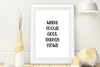 Set of 5 Focus Canvas Wall Art, Follow One Course Ultil Success, Focus Wall Decor, Focus Poster, Focus Art, Art Quotes, INSTANT DOWNLOAD
