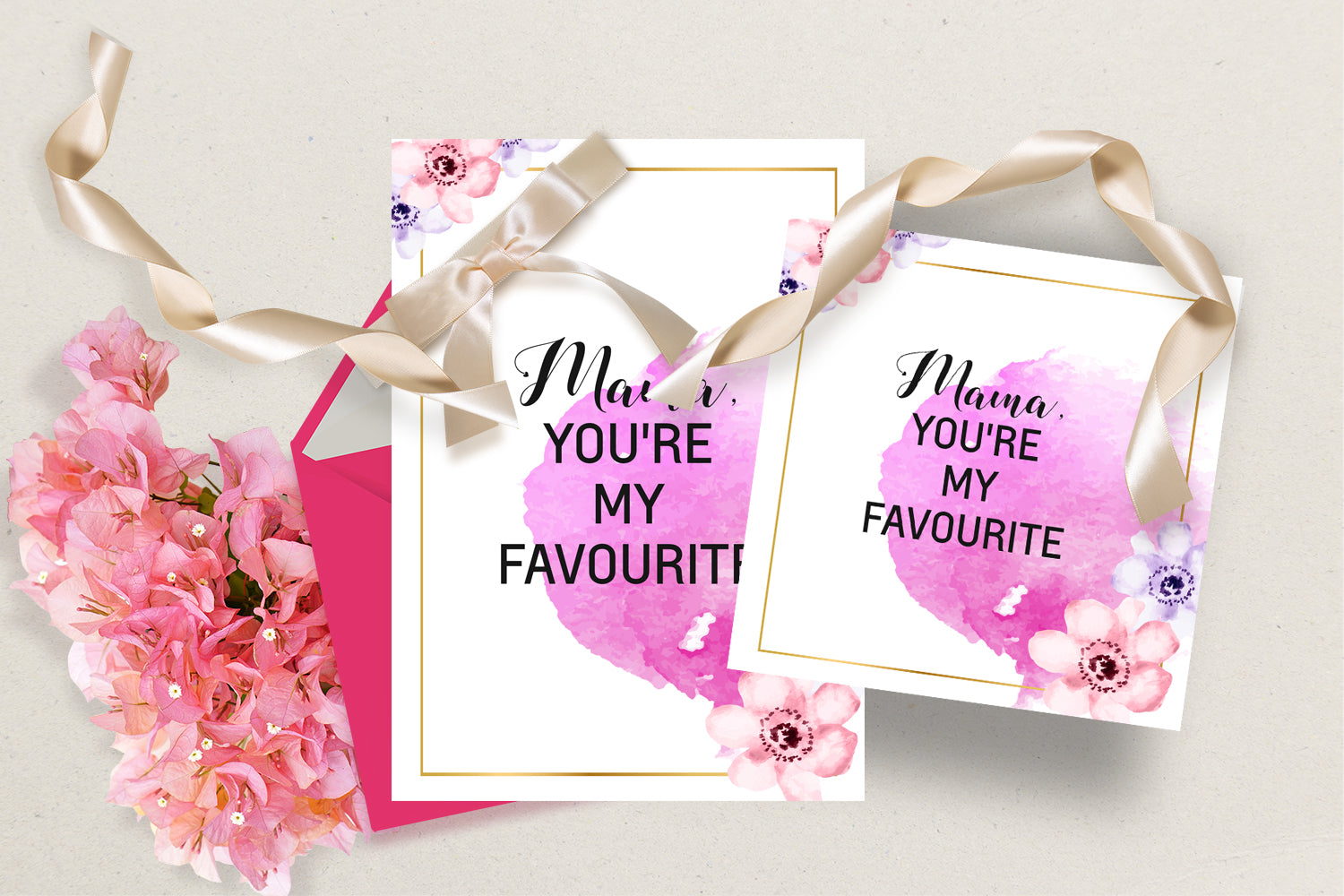 Mother's Day Greeting Cards - Mama You are my favourite, INSTANT DOWNLOAD