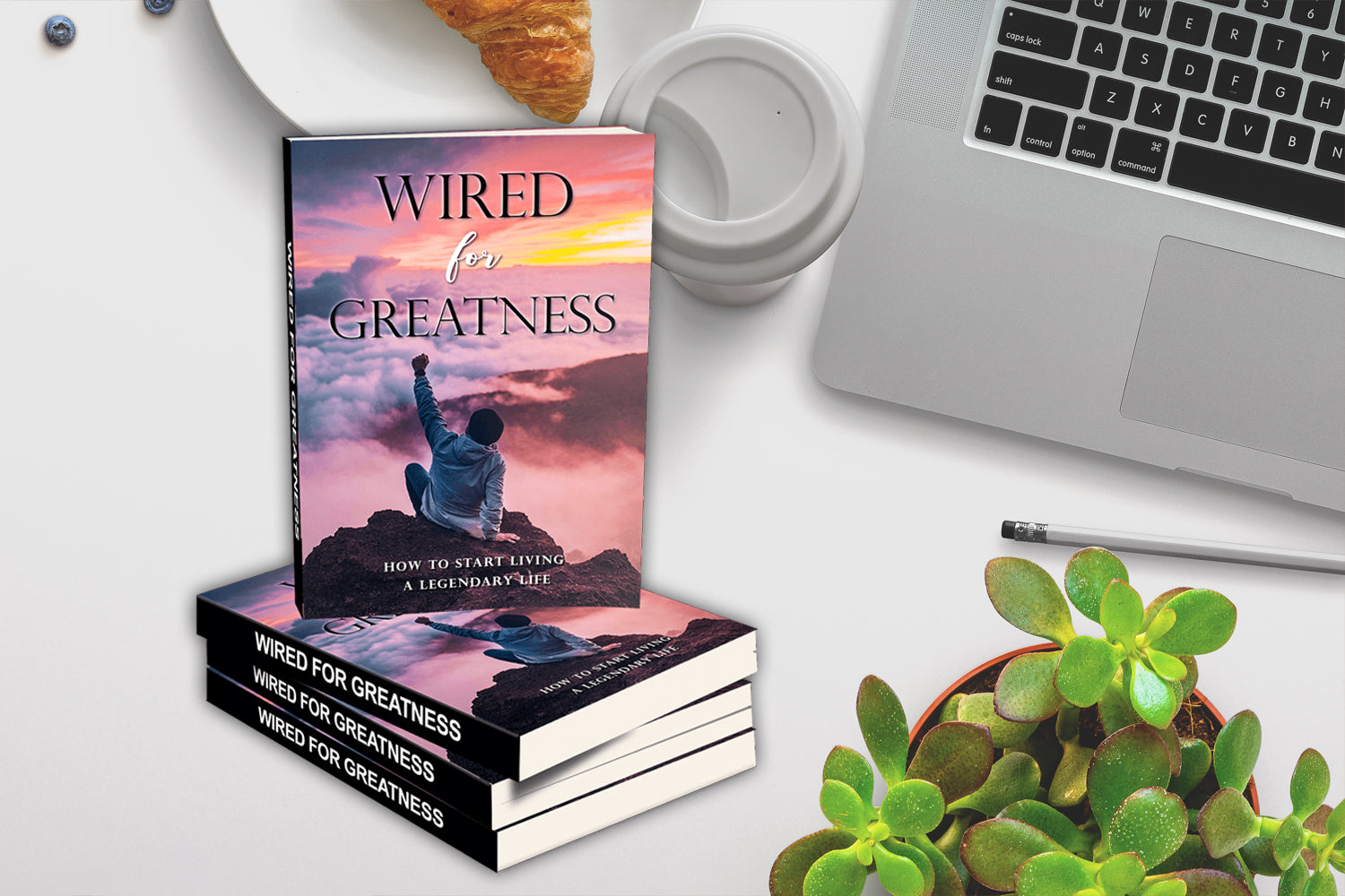 Wired For Greatness, Is The Ultimate Guide That Shows You How To Re-Wire Your Brain For Greatness.
