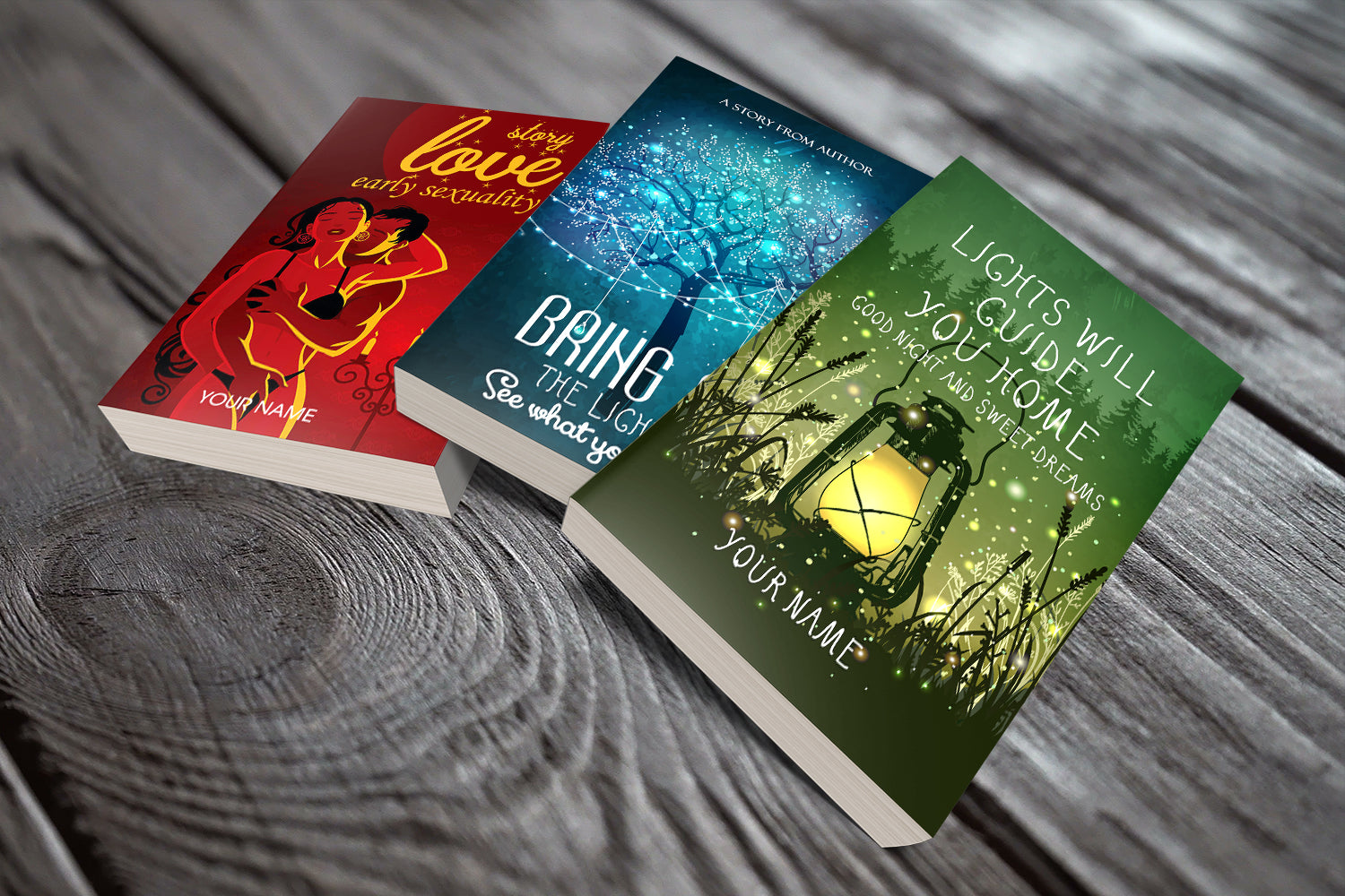 3 Professional Fiction Book Covers Attract Your Desired Audience