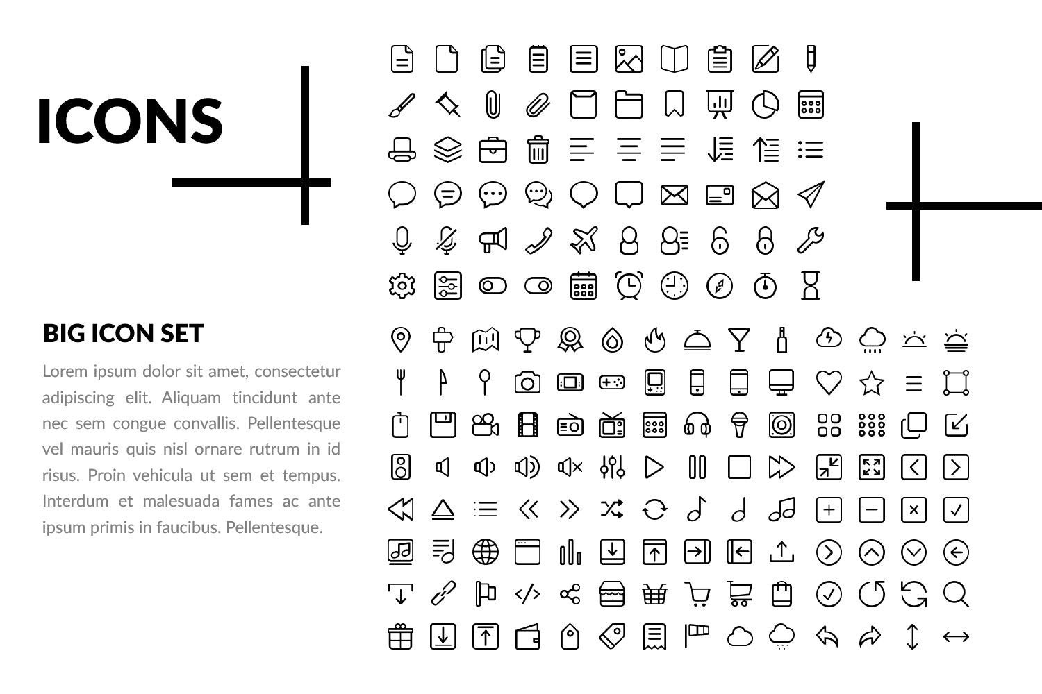 2000+ Icons Powerpoint, Free Vector Icons, Icon Set for Social Media, Business, Finance and your projects, instant download