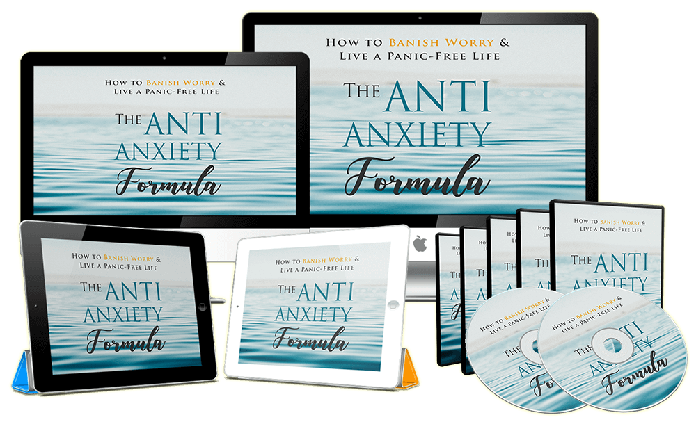 The Anti-Anxiety Formula Video, Overcome Anxiety For Good, So That They Could Live A Stress-Free Life