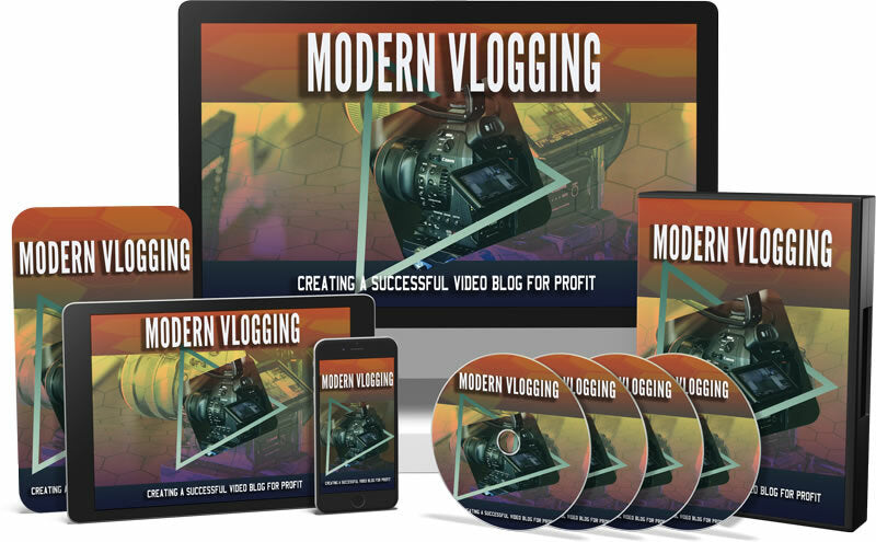 Modern Vlogging Video - Doing Something That You Love And Recording It To Share With The World And Making Money At The Same Time