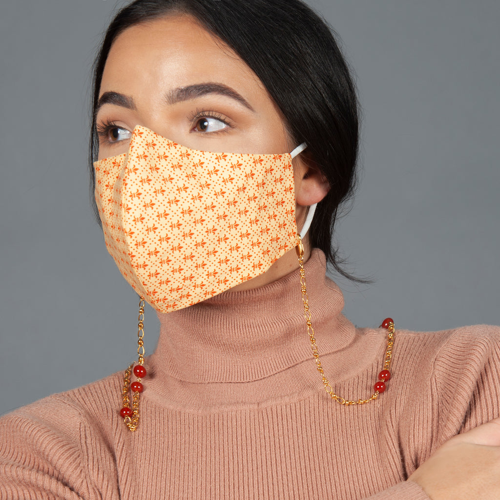 Ruby Face Mask Chain