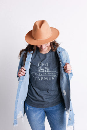 'Proud Century Farm Farmer' Tee