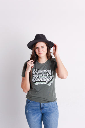 'Farming Takes A Family' Tee