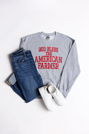 God Bless the American Farmer Crewneck