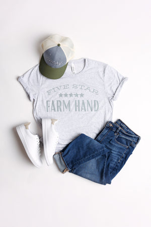 "'Five Star Farm Hand"" Triblend Tee"