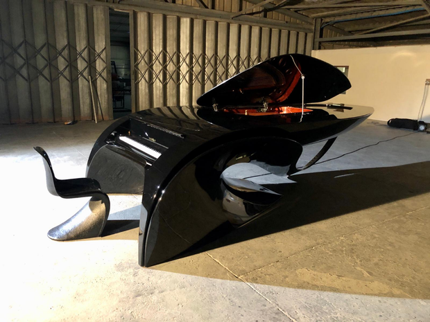 Limited Edition of Five Self-Playing Designer Pianos